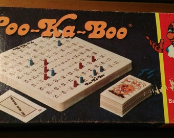 Vintage Board game Poo-Ka-Boo
