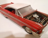 Rusted Wreck Classicwrecks Scale Model Red Plymouth Christine Car