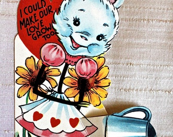 Vintage Rabbit Valentine