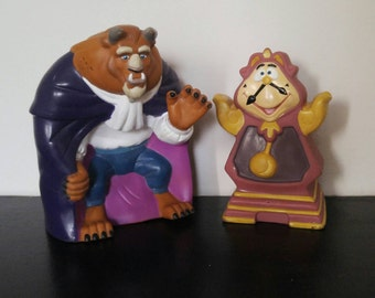 Vintage 90s Disney Movie Book - Beauty and the Beast - 1992