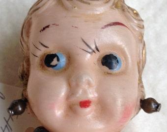 Plastic Betty Boop Style  Carnival Cupie Doll
