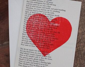 a joy forever heart card