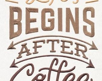 Coffee Break - Life Begins After Coffee