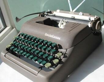 Smith and Corona Silent Typewriter, Vintage Typewriter