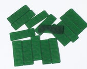 Forest Green Textured Rectangles
