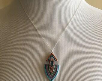 Beautiful Arrowhead Pendant Necklace