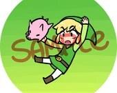 SUPER SMASH BROS. - Toon Link