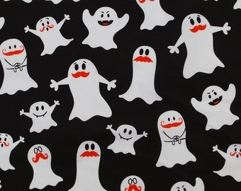 2245 - 1 yard Cotton Fabric  - White ghost (140cmx91.44cm)