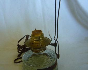 Antique Hanging Oil Lamp/Electric Lamp