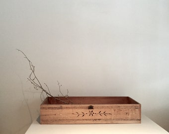 Antique Stripped Pine Draw/Planter Box