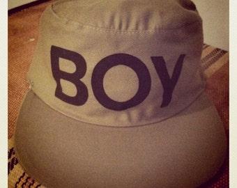 BOY London Painters Hat Khaki