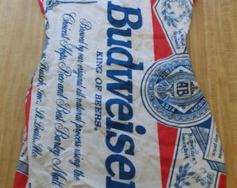 Budweiser Beer Vintage Bodycon Dress 11/12