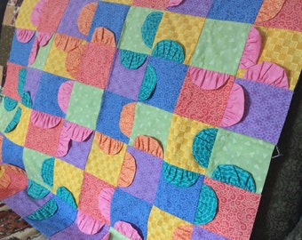 Nursery wall hanging  or quilt