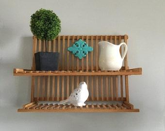 Wooden Fold Up Shelf