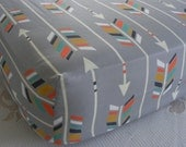 Premium Crib Nursery Sheets Baby Bedding  Tribal Feathers