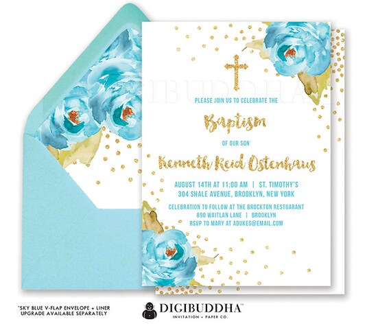 Boy baptism invitation boy christening invitation party first il570xn solutioingenieria Image collections