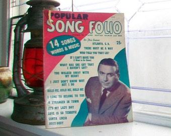 Vintage Sheet Music 1946 Popular Song Folio