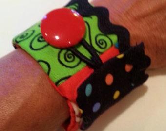 Zig Zag Wrap bracelet