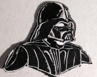 Star Wars Darth Vader Embroidered Iron On Patch