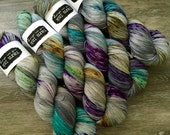 classic {sock}  | DRAGONFLY | ready to ship | hand dyed yarn | merino nylon