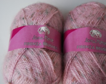 2 skeins Lana moro Firenza Brushed