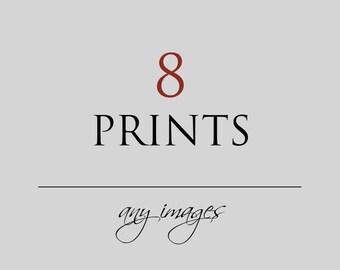 Discounted Print Set, 8 Fine Art Prints, Custom Set, Wall Art, Travel Photography, Ethnic Art, Inspirational, Nature, Instant Gallery, Decor