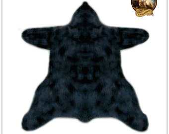faux fur bear skin rug thick soft and realistic 9 great colors and