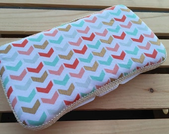 Baby Wipes Case, Travel Wipes Case, Wipes Case, Modern Abstract print
