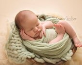 Newborn Photography posing bowl, Vintage reproduction, Primitive dough bowl made from resin, posing prop