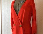 SALE - Vintage Gianfranco Ferre Dress Double Breasted Size 44 Excellent Condition D403