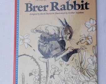 BRER RABBIT Children's Book Kipling Press 1988 Mark Davies