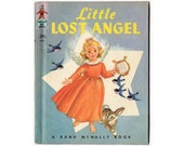 Little Lost Angel, Tip Top Elf Book 8680, 1953 Rand Mcnally Childrens Book by Janet Field Heath, Illustrated by Janet Laura Scott, Hardcover