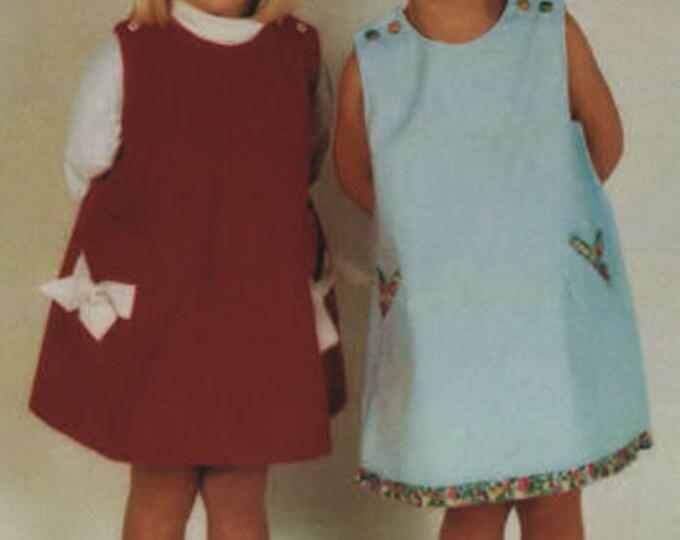 Lucy Pattern / Sundress Pattern / Jumper Pattern / Button Shoulder Pattern / Children's Corner 241