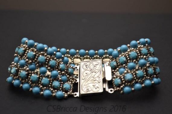 Basket Weaving Supplies Portland Oregon : Crystal pearl bracelet tutorial from csbriccadesigns on