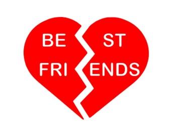 best friend heart - photo #19