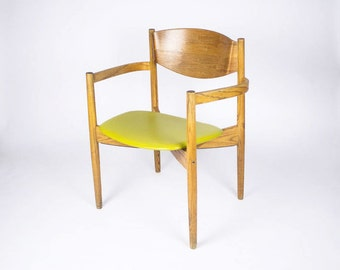 Mid Century Chair by Jens Risom, the 'General Purpose Chair' / Danish Modern Chair