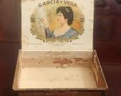 Garcia Y Vega Cigar Box c. 1920 - 1930