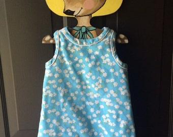 vintage florence eiseman daisy shift dress 2t