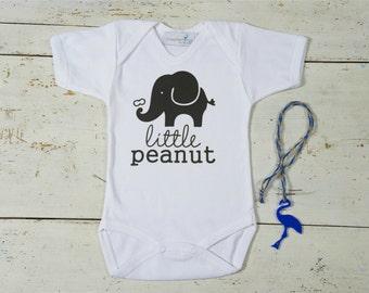 Cute Baby Onesie, Little Peanut Baby Onesie, Boy or Girl Newborn Gift, Gift for Baby Shower, Easter Baby Onesie