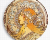 Needle minder for Cross Stitch Zodiac By Mucha, Tapestry and Needlepoint