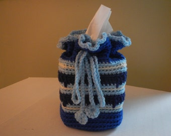 Hand Crocheted Tissue Box Cover