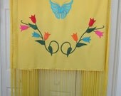 "ladies 60"" dance shawl, native american style"