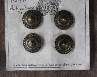 Pointed Shield Buttons B-190-28AG