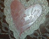 12 Valentines Day To My Valentine Large Heart Shaped Chocolate Lollipops Valentines Gift Party Favors