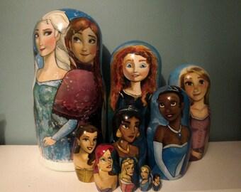 Set of Ten Disney Princesses
