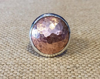 Copper Dome Ring