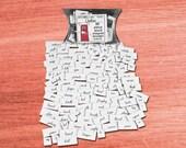 Erotica Magnets Booster Magnet Word Set - MATURE
