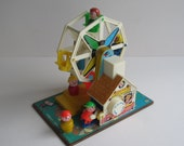 Vintage 1966-80 Fisher Price Little People Ferris Wheel  FP969