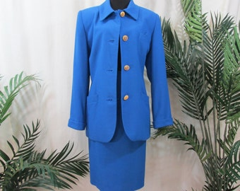 vintage,two piece suit,Worthington size 12,bussiness suit ,womens suit ,skirt and jacket, office wear, dress suit for women, vintage