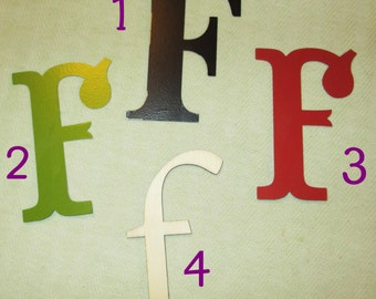 Large Magnetic Letter - F - Personalize It